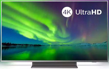 TV LED 4k PHILIPS 7504 scheda tecnica caratteristiche
