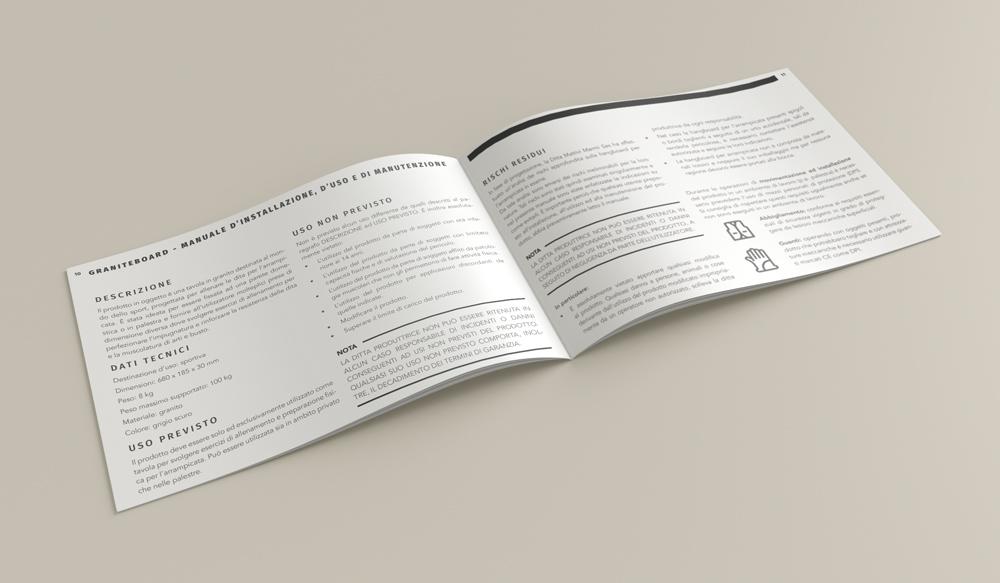 granite board sito trento differenza flyer brochure depliant